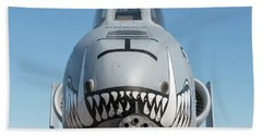A Face Only Ground Troops Can Love - 2017 Christopher Buff, Www.aviationbuff.com Bath Towel