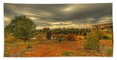 A Farm In Bridgetown, Western Australia Bath Towel