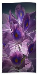 A Floral Splendor Bath Towel