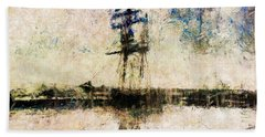 Hand Towel featuring the photograph A Gallant Ship by Claire Bull