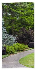 A Garden Walk Bath Towel