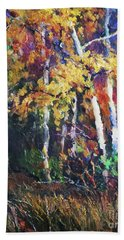 A Glance Of The Woods Hand Towel