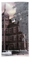 A Glimpse Of Charlton House, London Bath Towel by Helga Novelli