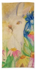 A Golden Day's Glory Hand Towel by Maria Urso