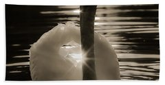 Bath Towel featuring the photograph A Golden Moment by Rose-Maries Pictures