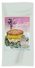 A Gourmet Cover Of A Souffle Bath Towel