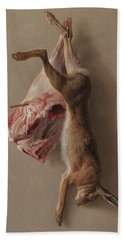 A Hare And A Leg Of Lamb Hand Towel
