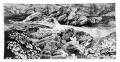 A Hiker's View - Landscape Print Hand Towel