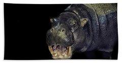 A Hippos Smile Hand Towel