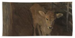 A Jersey Calf, 1893 Hand Towel by John Singer Sargent