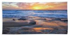 A La Jolla Sunset #1 Hand Towel