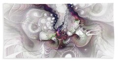 A Leap Of Faith - Fractal Art Hand Towel