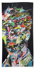 Bath Towel featuring the painting A Life Full Of Oppurtunities by Fabrizio Cassetta