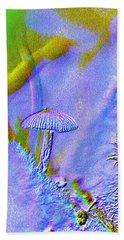A Little Mushroom  Hand Towel