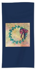 A Little Wreath Hand Towel
