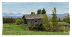 A M Foster Bridge Bath Towel
