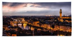 A Magic Glimpse Bath Towel by Giuseppe Torre