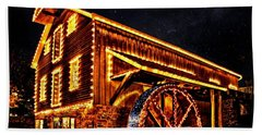 A Mill In Lights Hand Towel