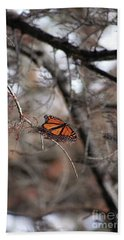 A Monarch For Granny Hand Towel
