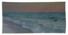 A Moonlit Evening On The Beach Bath Towel