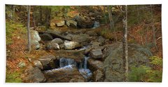 A Mountain Brook  Hand Towel by Skip Willits