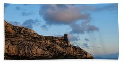 A Mountain With A View Bath Towel