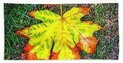 A New Leaf Hand Towel