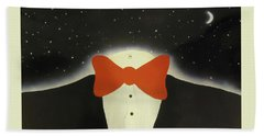A Night Out With The Stars Bath Towel by Thomas Blood