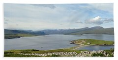 A Panoramic View Of Loch Eriboll In The Scottish Highlands Near Tongue Bath Towel
