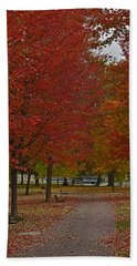 A Perfect Day In The Park Bath Towel