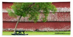 Bath Towel featuring the photograph A Picnic For You And Me by Corinne Rhode