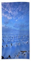 Hand Towel featuring the photograph A Quiet Light Purely Seen by Phil Koch