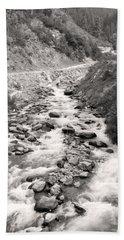 A Quiet River Hand Towel