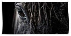 A Race Horse Named Tikki Bath Towel