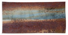 Bath Towel featuring the photograph A Red Storm Is Coming by Jani Freimann