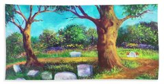A Remembrance Hand Towel by Randy Burns