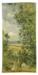 A Rest In The Meadow Hand Towel