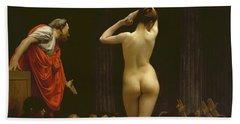 A Roman Slave Market, Jean Leon Gerome Hand Towel