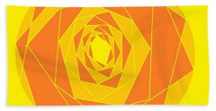 A Rose By Any Other Name 1 Bath Towel by Linda Velasquez