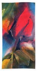 A Rose By Any Other Name Bath Towel by Lee Beuther