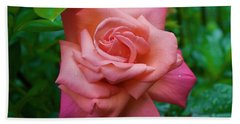 A Rose In Spring Hand Towel