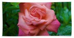 A Rose In Spring Bath Towel