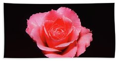 A Rose Is A Rose Is A Rose Bath Towel