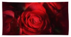 A Rose Is A Rose Hand Towel