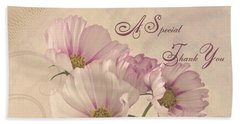A Special Thank You - Card Hand Towel