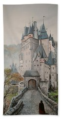 A Story At Eltz Castle Hand Towel