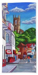 A Stroll On Melville Street Bath Towel