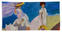 A Stroll On The Beach   Bath Towel