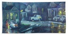 A Summer Rainy Night Hand Towel by Ylli Haruni