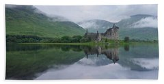 A Summers Morning At Kilchurn Bath Towel